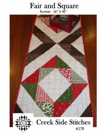 Fair and Square Pattern - Creek Side Stitches