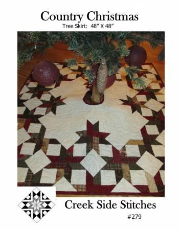 Country Christmas Tree Skirt