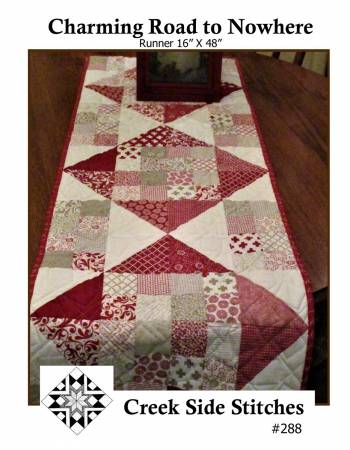 Charming Road to Nowhere / Table Runner