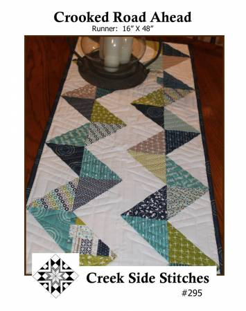 Crooked Road Ahead - Creek Side Stitches