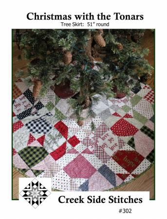 Christmas With The Tonars Tree Skirt