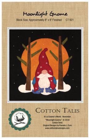 Moonlit Gnome - Wool - 8 x 8