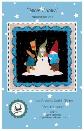 It's A Gnome's World - Winter - Snowman Gnome