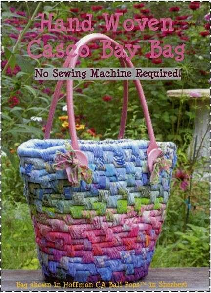 Hand Woven Casco Bay Bag