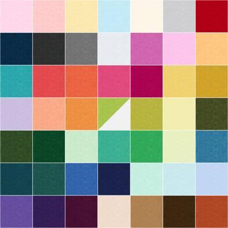 Cotton Shot - 5 Squares - 42pcs