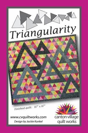 Canton Village Quilt Works - Triangularity