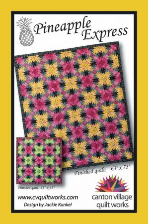 Canton Village Quilt Works - Pineapple Express