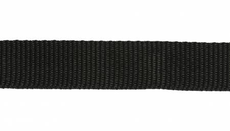 Polyester Webbing Black 1in