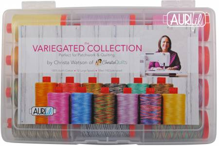 The Variegated Collection by Christa Watson 50wt 12 Large Spools