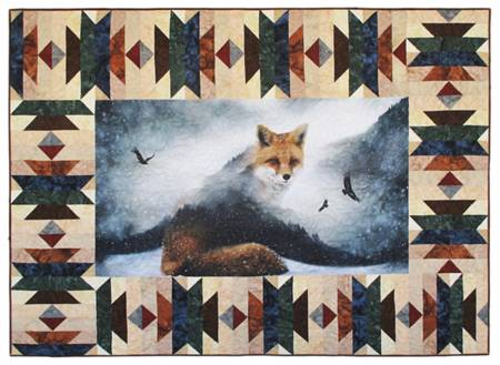 Forest Border Kit Call of the Wild including Fox Panel