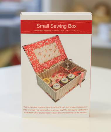 (S) Creative with Carboard Small Sewing Box Kit