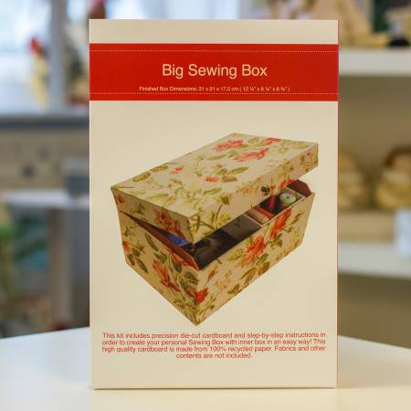 (S) Creative with Cardboard Big Sewing Box Kit