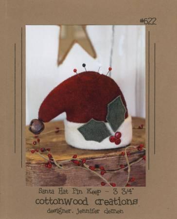 Santa Hat Pin Keep by Cottonwood Creations