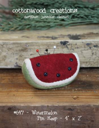 Cottonwood Creations Watermelon Pin Keep