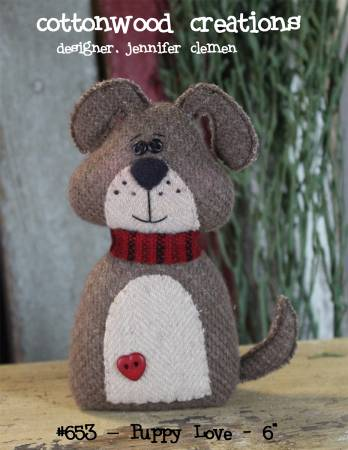 Puppy Love Pattern by Cottonwood Creations+