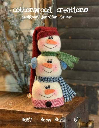 PT W Cottonwood Creations Snow Stack