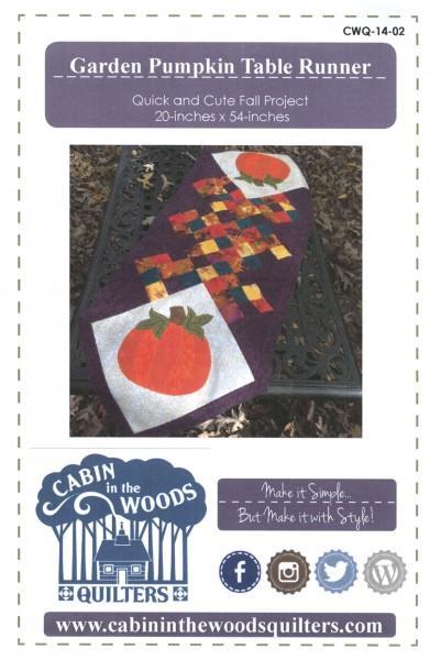 Garden Pumpkin Table Runner