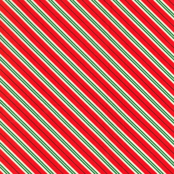 Michael Miller Red Candy Cane Stripe