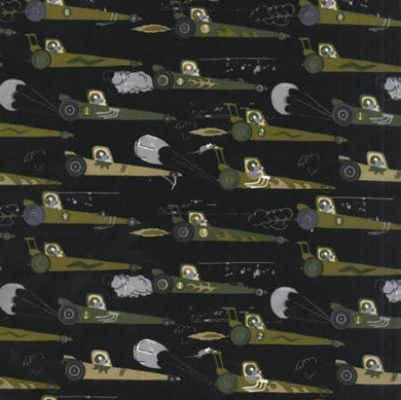 Fabric Black Rat Race Redux