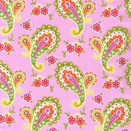 CX7505 FLOW D  Paisley Blossom Collection for Michael Miller Fabrics
