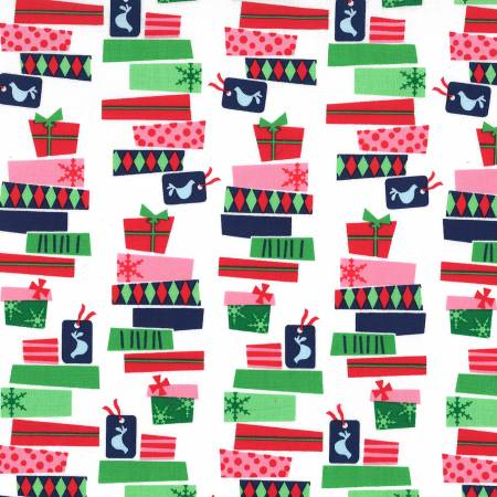 CX8383 Cheery That's a Wrap for Michael Miller Fabrics. 100% cotton 43 wide