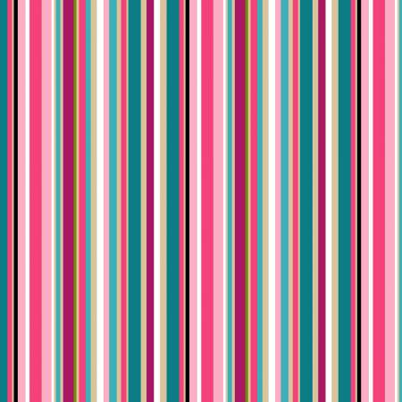 Pink Plain Stripe