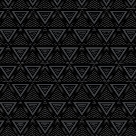 Tonal Black Triangles:  Triangle Geo by Michael Miller Fabrics