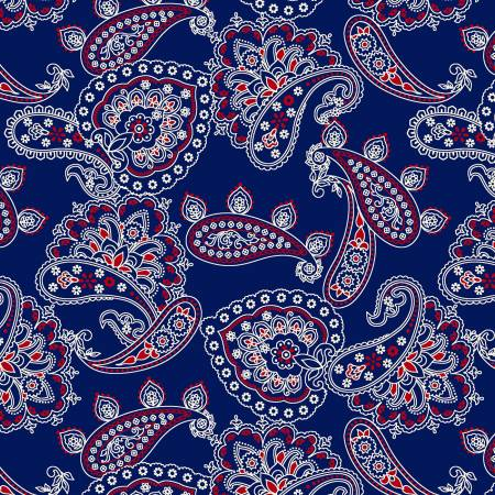 Bandana Allover Navy