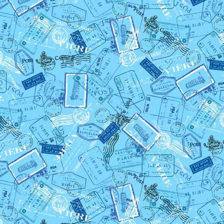 Blue Globetrotter cx9215-blue