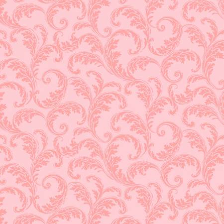 Pink French Scroll