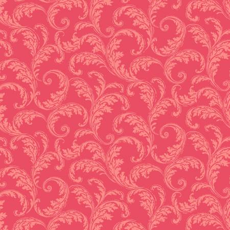 Red French Scroll