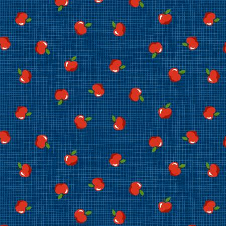 Apple Orchard by Michael Miller CX9335-NAVY