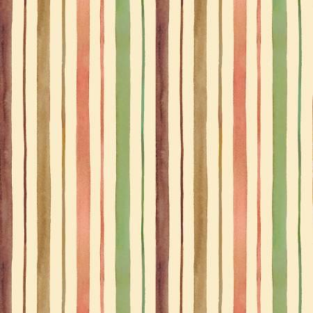 Victoria's Garden - Velvet Stripe - Multi