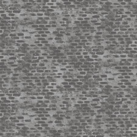 Diggers and Dumpers - Michael Miller Fabric - Brick Blender