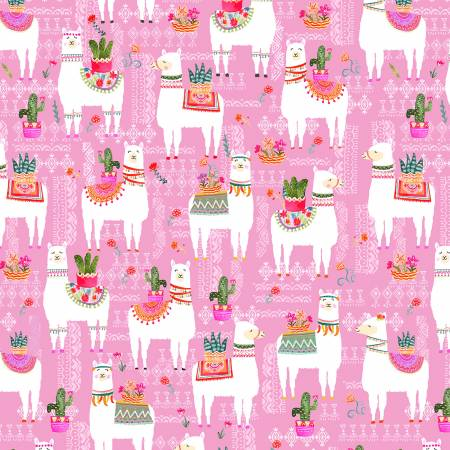 La Vida Loca - La Llama in Pink  CX9416-PINK