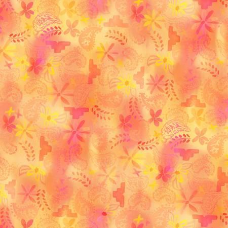 La Vida Loca - Tango Tie Dye - Sunshine - 9424
