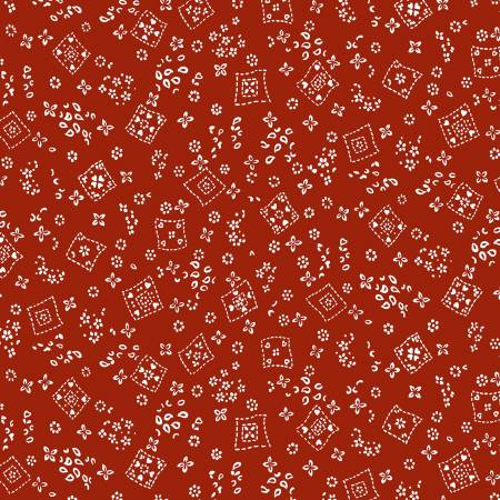 Red Tossed Bandana