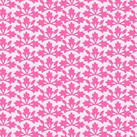 *PRE-ORDER* Michael Miller, Bungalow, Blossom Block Print, Pink