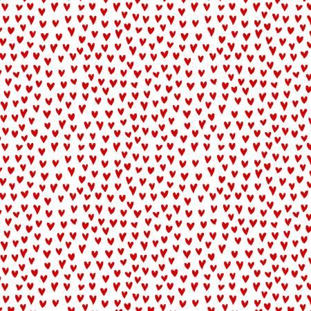 Heart Stitch - Red