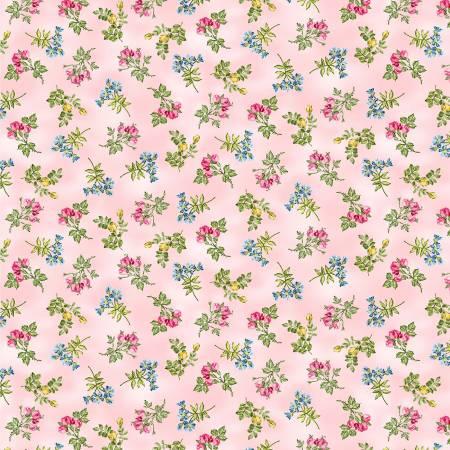 Michael Miller Air Pink In Bloom