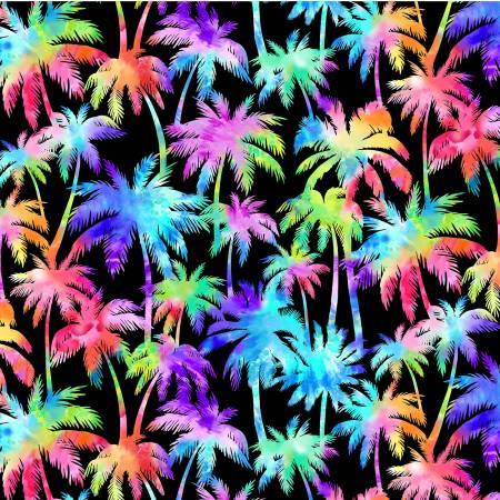 Black Palm Trees