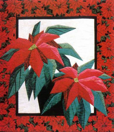Poinsettia with Freezer Paper