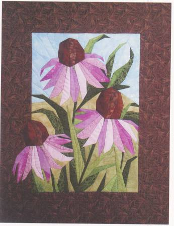 Coneflowers with Freezer Paper
