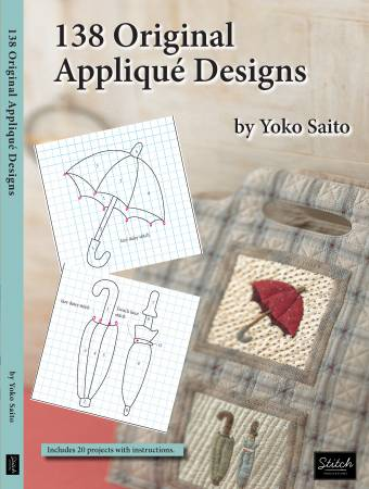 138 Original Applique Designs - Softcover