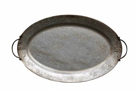 Metal Tray with Handles