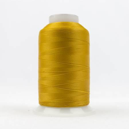 Deco Bob 80# Soft Poly Thread - 131-Dark Gold