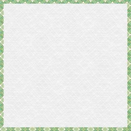 18-Inch Green Plaid Design Board