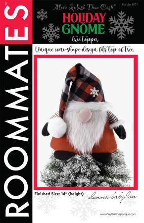 Holiday Gnome Tree Topper