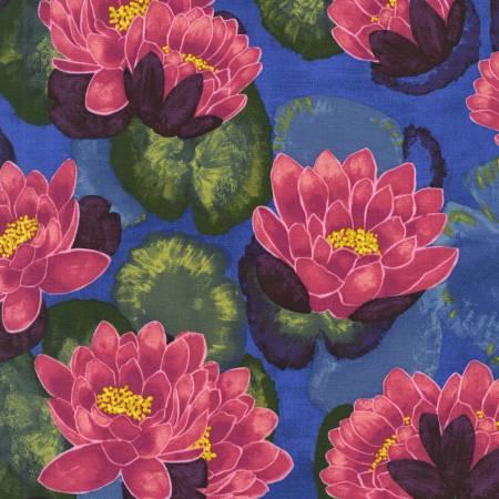 Magenta Blooming Lotus