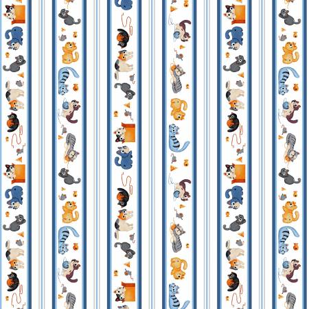Blue Alley Cats DC8659-BLUE
